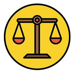 AWS Weighing Machine Symbol